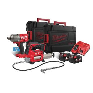 Milwaukee Akku-Set M18ONEPP2W-502X 4933 4649 14