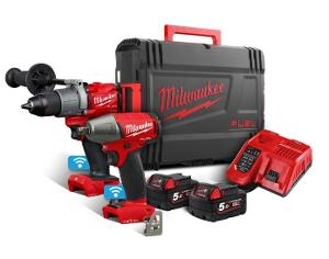 Milwaukee Akku-Set M18ONEPP2B2-502 SET POWERPACK